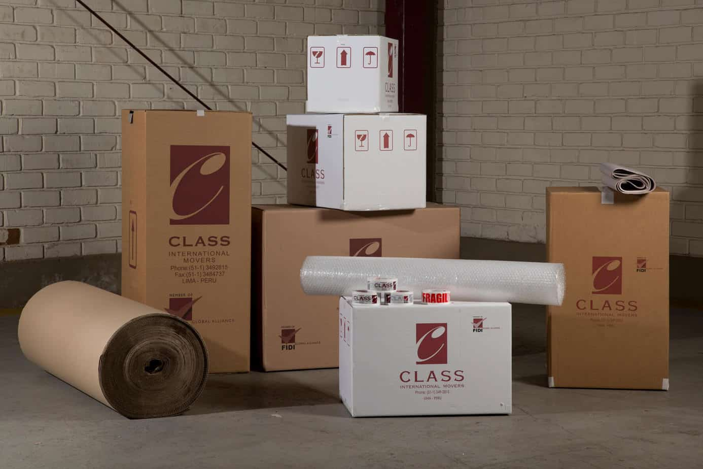 We assign you a coordinator exclusively in charge of your entire relocation
