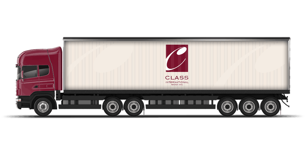 Class International Movers Truck